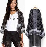OEM 2015 Women Clothes Fashion Tassels Edge Women Blouse