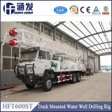 Hft600st Truck Mounted Water Well Drilling Equipment