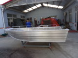 Beautiful Aluminum Alloy Boat Fishing Boat in Sea