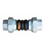 Galvanized Thread End Double Sphere Fexible Rubber Expansion Joint