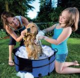 Foldable Pet Bath Pool Dog Swimming Pool Washing Pool Faltbare Hunde-Badewanne
