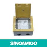 Floor Socket Box out Put Connector Drop Box Floor Pocket Ground Supply Socket (SCF-180BC)