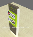 Outdoor LED Lignt Box No Parking Pylon Sign