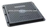 EN124 A15 600x600 SMC Manhole Cover with Screw Lock