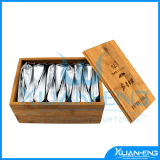 Ecological Recyclable Bamboo Tea Box with Laser Logo