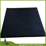 Black Color 500X500X20mm Rubber Gym Mat From Csp