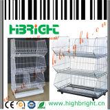 Mobile Zinc Mesh Stacking Display Basket (HBE-MC-5)