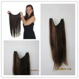 Wholesale 100% Human Hair Flip in Hair Extensions, Halo Hair Extensions, Taria Hair Extensions