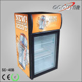 Silent Beverage Cabinet Refrigerator with Removable Shelves (SC-40B)