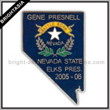 Nevada Star Enamel Metal Pin for Promotion Gift (BYH-10019)