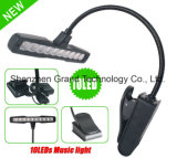 10 LED White Light Music Stand Clip Stand (ML-10)
