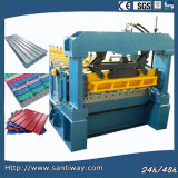 Roof Tile Cold Roll Forming Machine Made in China