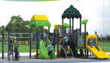 2015 Hot Selling Outdoor Playground Slide with GS and TUV Certificate QQ14016-2