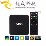 2016 Hot and Best Selling 4k2k H. 265 Hevc Quad Core Ott Smart Box Media Player Android 4.4 15.2 Kodi Set Top Box Amlogic S812 2g/8g M8s Android TV Box