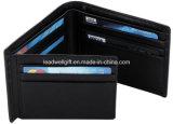 Travelambo RFID Blocking Mens Leather Wallet Flipout ID Bifold Trifold Hybrid Slim