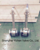 Long Stem Cryogenic Flange Forged Steel Ball Valve