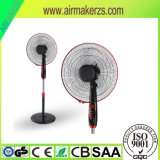 "16"" Plastic Electric Oscillating Stand Fan with Ce/SAA"