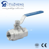 Stainless Steel Two Piece Thread Ball Valve