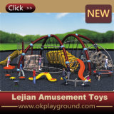 2016 Kids Outdoor Body Building Equipment with Slide (MP1406-10)