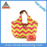 Promotional Folding Recycle Carry Shopping Tote Picnic Lunch Cooler Bag