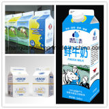 3 Layer 250ml Milk Gable Top Carton