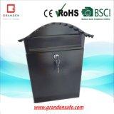Steel Mailbox or Letter Box Modern Design Solar