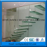 10mm Stair Clear Tempered Glass