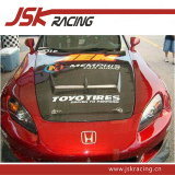 with Hole Carbon Fiber Hood for 2000-2008 Honda S2000 (JSK121609)