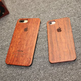 Rosewood Natural Carved Wood Hard Case for iPhone 7