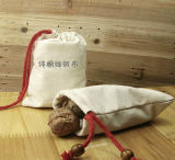 Natural Canvas Bag for Cosmetic Packing