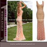 Wholesale Sexy Women Lace Prom Long Evening Dress (T6744)