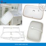 Bathroom Ceramic Under Mounted Wash Basin with Cupc (SN014)