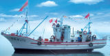 17.3m FRP Material Commercial Fishing Boat/Trawler Fishing Boat