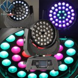 Ring Effect 36*10W RGBW LED Moving Head Light with Zoom Wash