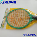Electric Bug Zapper Racket with Light