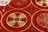 Flower Chenille Jacquard Fabric for Sofa or Curtain