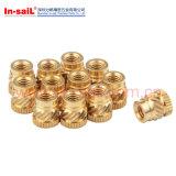 Brass Threaded Insert Nut for Themoplastic Material