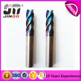 Solid Carbde Rough End Mills 4flutes for Steel Milling Tools Nano Coating