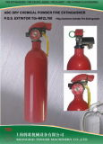 750g/1.5lb ABC Dry Powder Fire Extinguisher-Aluminum Cylinder