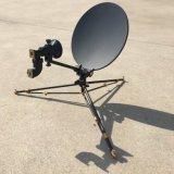 0.4m Carbon Fiber Flyaway Rxtx Satellite Dish Antenna