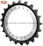 Hyundai Excavator R210 Gear Sprocket Rim Drive Sprocket for Undercarriage Parts