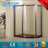Champange-Color Aluminum Sliding Shower Enclosure (BL-Z3507)
