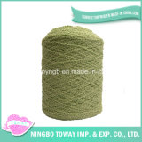 Textile Custom Colored Wool Acrylic Boucle Hand Knitting Fancy Yarn