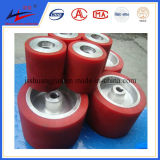 Belt Conveyor Rubber Coating Roller Hot Vulcanized Rubber and PU Coat Conveyor Roller