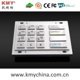 160*102.4 PCI Encryption Pin Pad EPP Metal Keypad (KMY3503A-PCI)