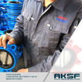 Wafer Type Cast Iron Resilient Seated Butterfly Valve