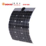 50W Monocrystalline Semi-Flexible Solar Panel