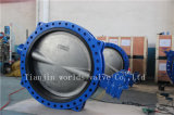 Big Size Double Flanged U Type Butterfly Valve with Ce ISO Wras Approved (CBF02-TU01)