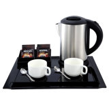 1L Capacity Steel Electric Kettle for Hotel Room