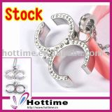 2017 Fashion Stainless Steel Pendant for Lady with Crystal